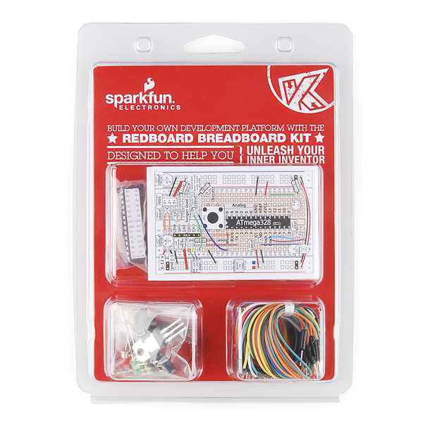 The RedBoard - BreadBoard Kit