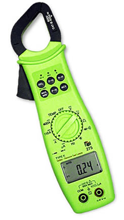 Clamp-On Tester with True RMS Digital Multimeter