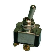 HD Bat Handle Toggle Switch,SPDT 20A@125V,ON-OFF-(ON)