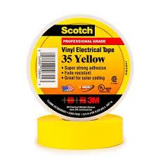 35-Yellow-3/4x66FT TAPE
