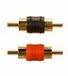 RCA PLUGS M/M RED/BLACK 2PK