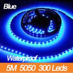 LED 5050 300 LED BLUE WATERPROOF