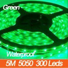 LED 5050 300 LED GREEN WATERPROOF