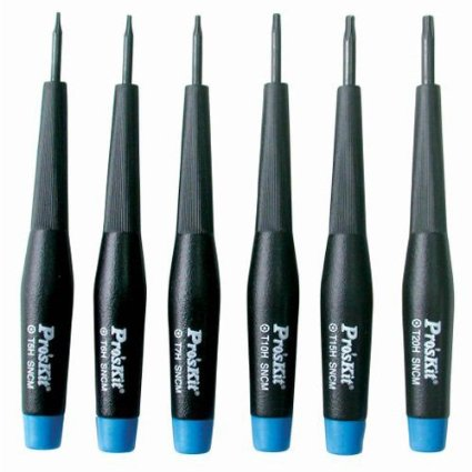 Eclipse 800-150 Precision Screwdriver Set 6 Pc. Security Star Tip