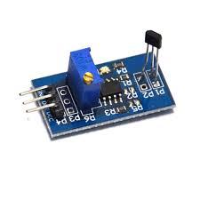 Hall switch sensor module