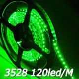 LED 3528 600 LED GREEN NON WATER PROOF 5 METERS