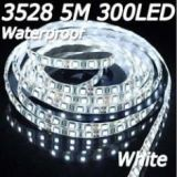 LED STRIP WATERPROOF 300 LEDS WHITE 5M