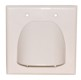 CANOPY PLATE, DOUBLE GANG, STANDARD-WHITE