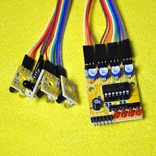 Four Channel Infrared Detector Tracked Photoelectricity Sensor