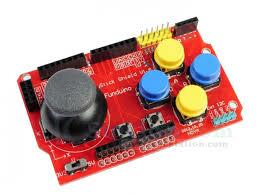 JoyStick Keypad Shield PS2 Gamepads for Arduino nRF24L01