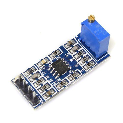 LM358 100 Gain Signal amplification module Operational Amplifier DC5-12V