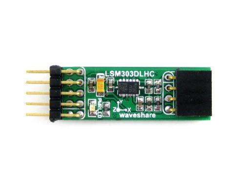 LSM303DLHC E-compass 3D Accelerometer Magnetometer Module I2C Interface GPS kit