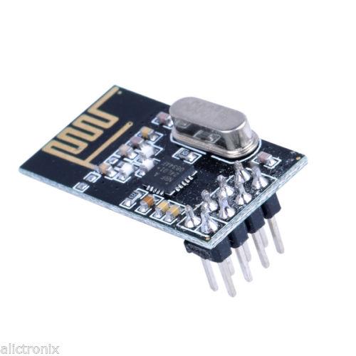NRF24L01+ 2.4GHz Wireless RF Transceiver Module