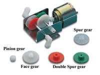 2 IN 1 GEARBOX FOR WOODEN KITS